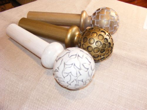 Beautiful finials