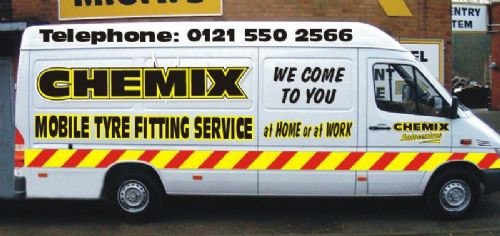 Chemix offer a mobile fitting service as well as state of the art equipment in-house.