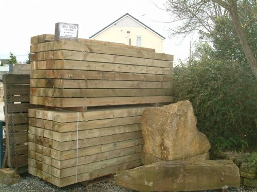 New Railway Sleepers, Ideal for raised beds or to make retaining walls.