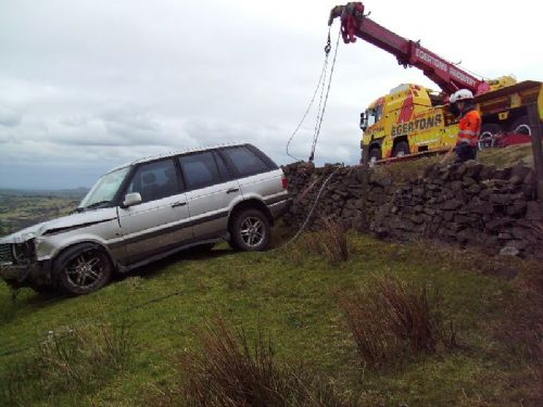 Off road recovery by Egertons