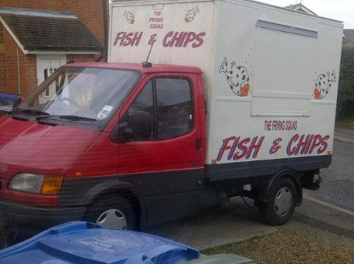 the fish and chip van is ideal for small places but can high output if required