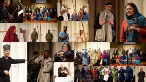 collage of images form local musical production, March 2013