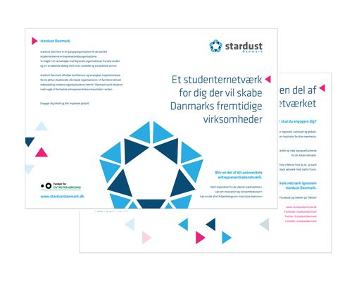 Stardust Logo and Brochure Design