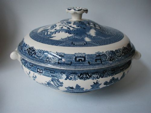 Wedgwood Willow Vegetable Dish