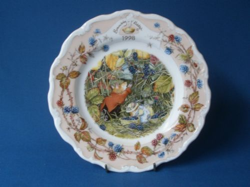 Royal Doulton Brambly Hedge 1998 Year Plate