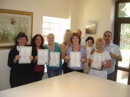 Sara Lou-Ann Jones delivering Hypnotherapy course