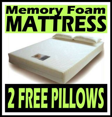 Memory foam mattress from £99.