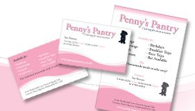 Pennys Pantry - Stationery Designs