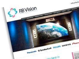 RB Vision Website Design - We've also completed matching Stationery.