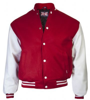 Baseball Jacket Red