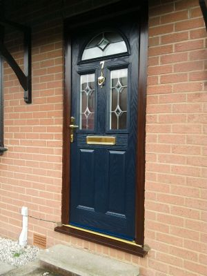 Composite Door in Blue
