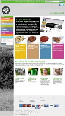 Ludlow Nut Co Ltd new Website