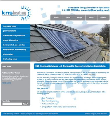 KnS Heating Website