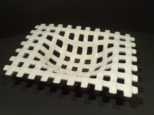 Modern Lattice Work Bowl