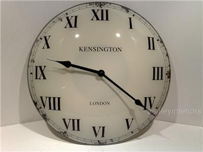 Glass Kensington Wall Clock