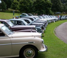 The Woldesley Rally at Hawkesyard Hall