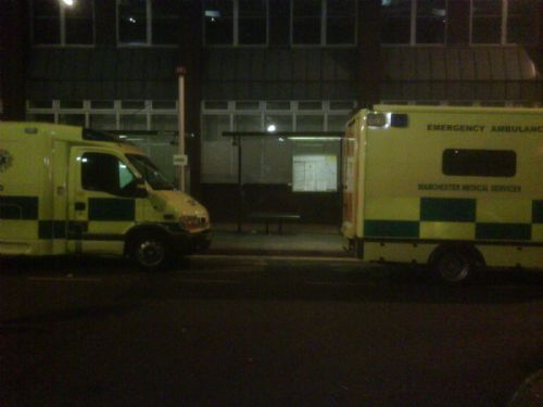 Mms a&e vehicles.