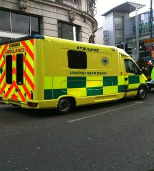 Mms a&e vehicle.