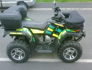 MMS Ambulance quad bike