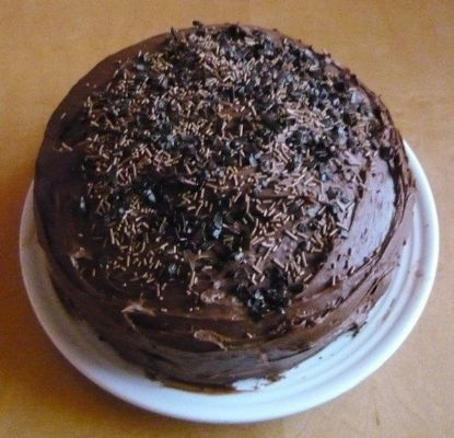 Naughty Devil's Food Cake