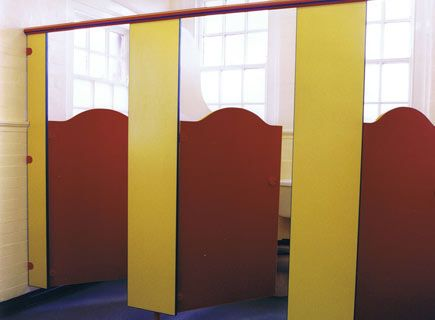 Primary School Toilet Cubicles