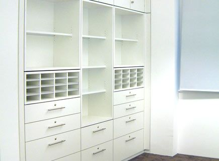 Floor To Ceiling Medical Storage
