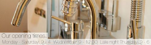 Delightful range of taps to suit anyones budget.