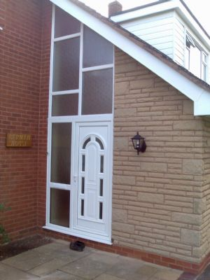 Unusual Door Front