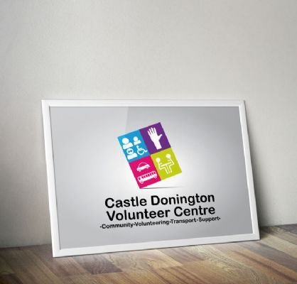 Logo Design for Castle Donington Volunteer Centre