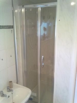 To a new shower wet room