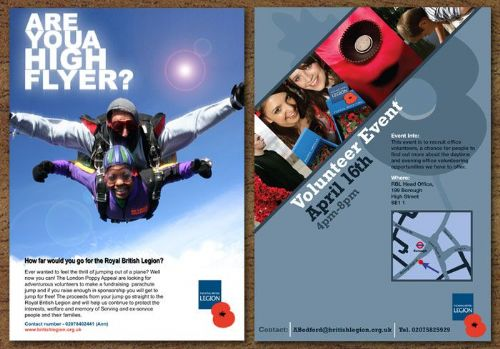 Poster Campaign for Royal British Legion
