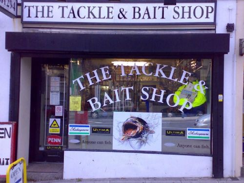 The Tackle and Bait Shop, the local anglers favorite