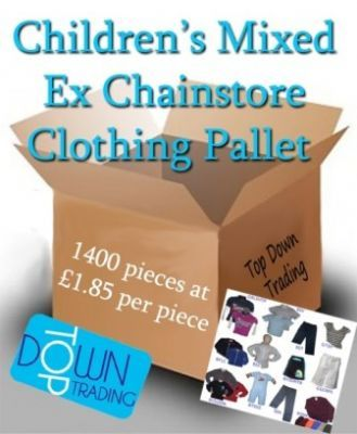 Children's Ex Chain Store Mixed Clothing Pallet