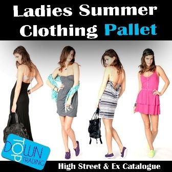Ladies High Street and Ex Catalogue Summer Clothing Pallet