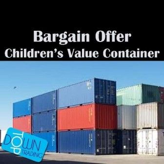 Children's Mixed Value Clothing Container and Pallet Offers Available