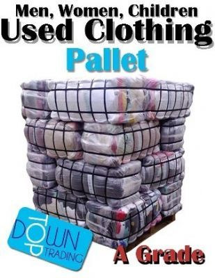 Used Clothing Pallet A Grade For Men, Women and Children