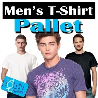 Men's Ex Chain Store and Ex Catalogue T-Shirt Pallet