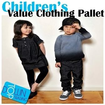 Children's Value Clothing Pallet
