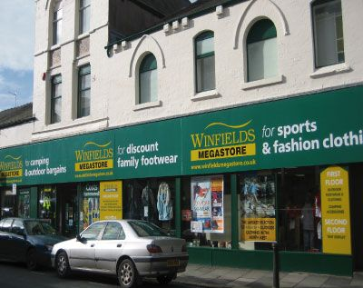 WinfiledsMegastore barrow Store (6 Stores Nationwide)