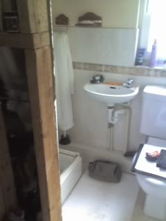 A en-suite before:-