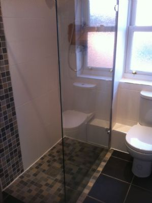 Increase your bathroom space with a shower Wet Room.