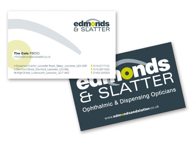 Edmonds & Slatters Logo and Business Card Design
