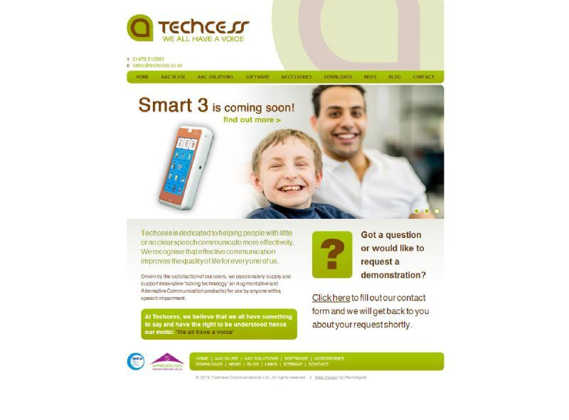 Techcess Website Design