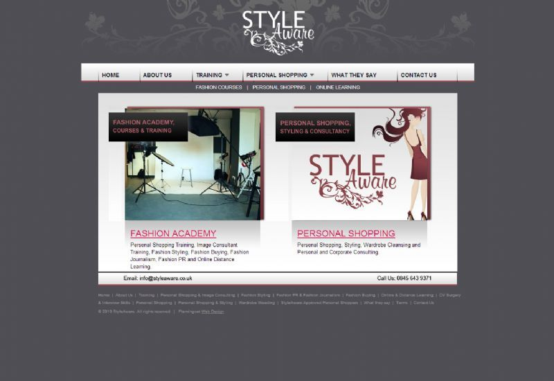 Style Aware Website Design