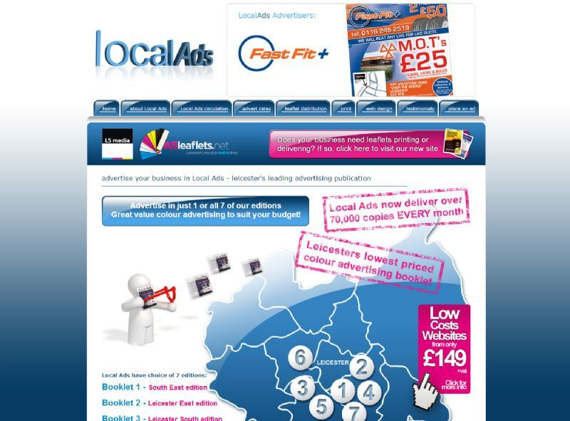 Local Ads Leicester Website Design