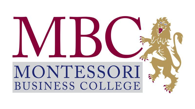 Montessori Business College Logo Design
