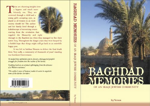 Baghdad Memories Book Cover Design
