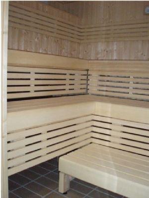 Sauna commercial.