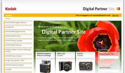 Kodak digital partners.