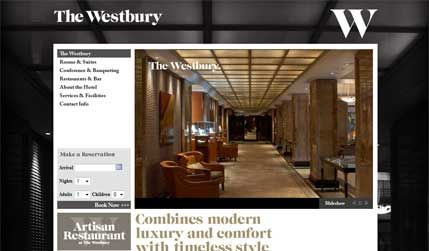 The Westbury Hotel, Mayfair - client